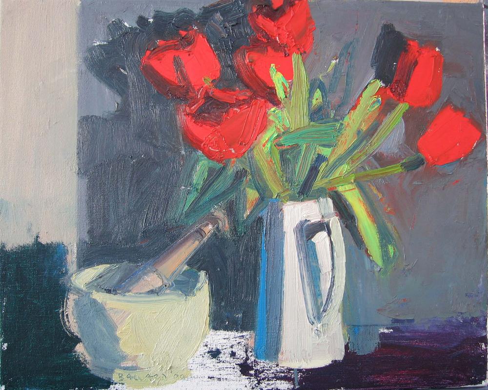 Brian Ballard_-_Six Tulips_41 x 51cm.jpg