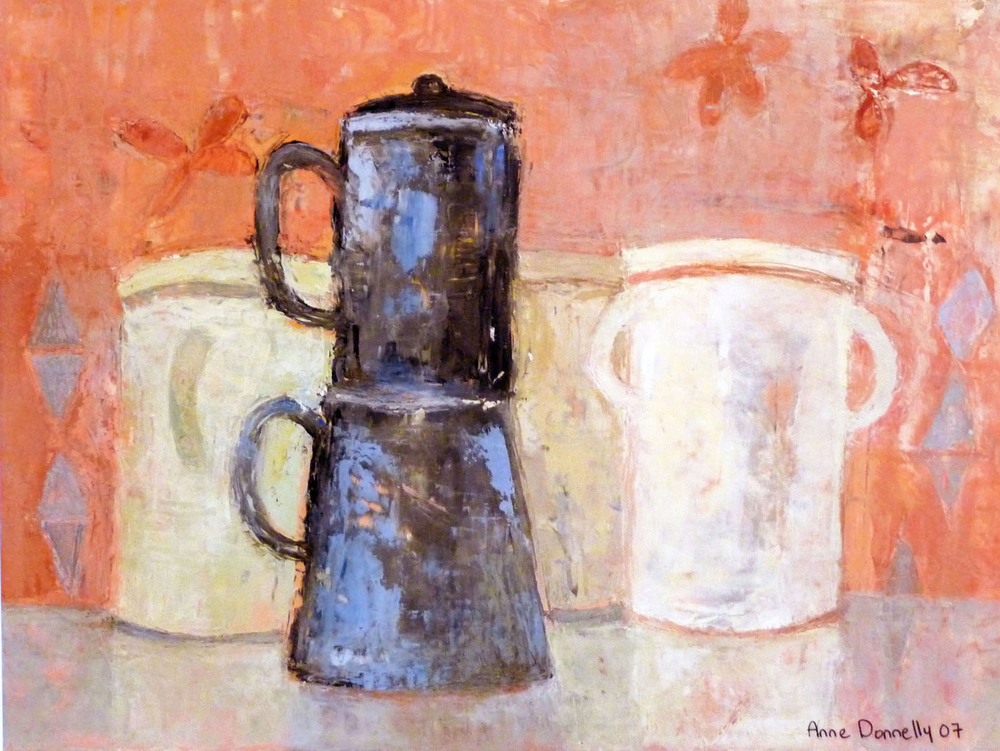 Anne Donnelly_-_Coffee Pot and Jars_oil on board_28 x 38.5cm.jpg