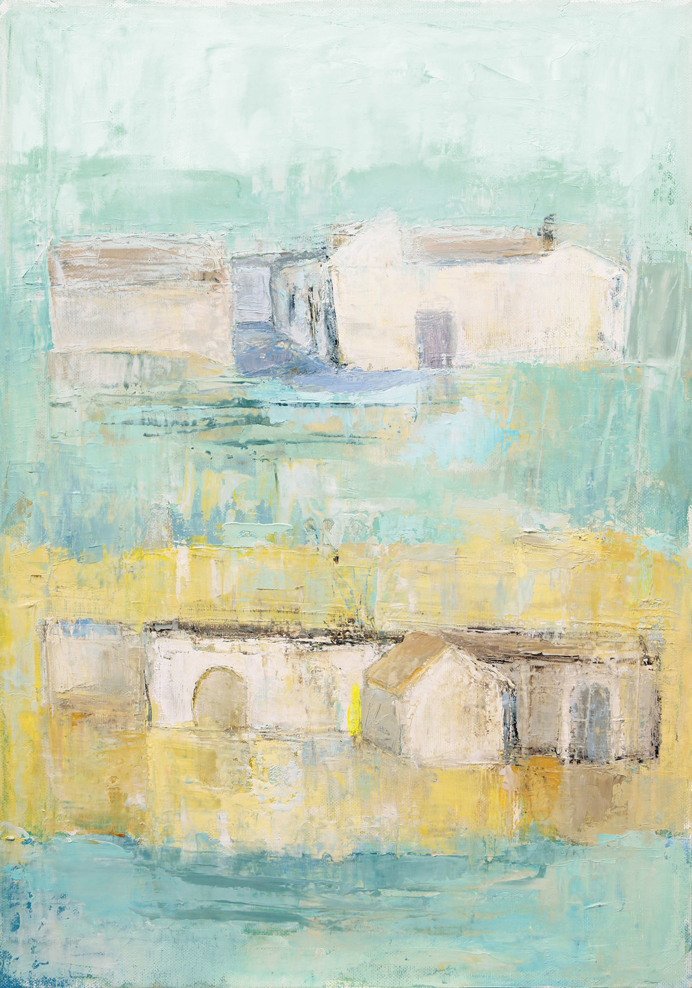 Anne Donnelly_2007_Village in Andalusia_oil on canvas_50cm x 35cm.jpg