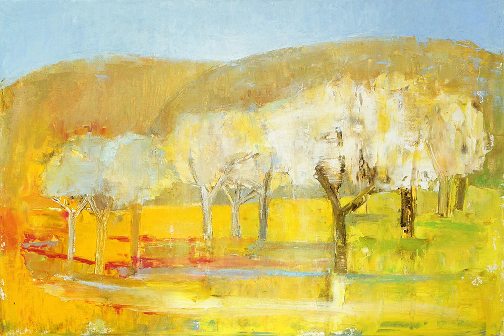 Anne Donnelly_2008_Trees in Spring_oil on canvas_40 x 60cm.jpg