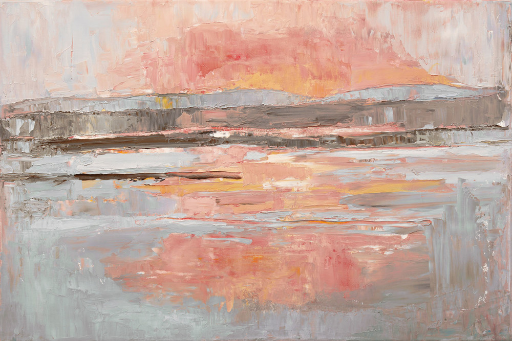 Anne Donnelly_2009_Sunset on the Sea_oil on canvas_40 x 60cm.jpg