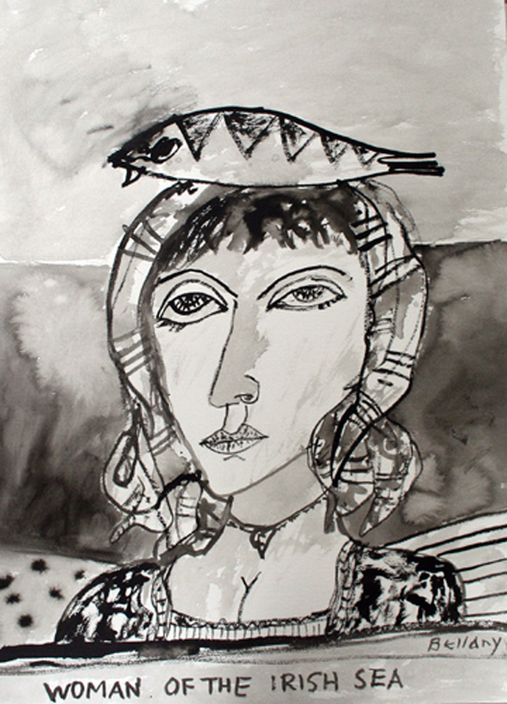 John Bellany_-_Woman of the Irish Sea_inkwash drawing_76 x 56cm.jpg