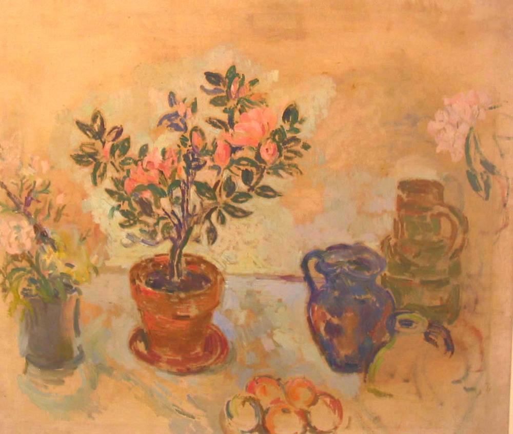 Stella Steyn_-_Still Life with Plants and Jugs.jpg
