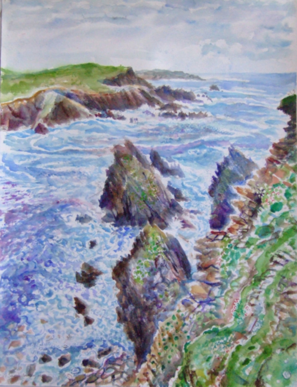 Sarah Longley_-_Sea Patterns_watercolour_76 x 56cm.jpg