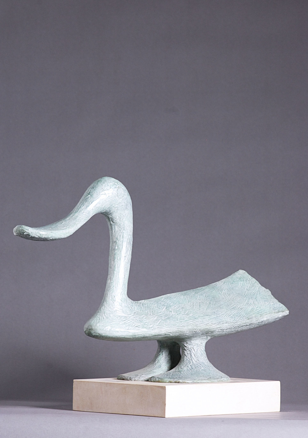 Breon O'Casey_-_Duck_bronze_41 x 58.5cm.jpg