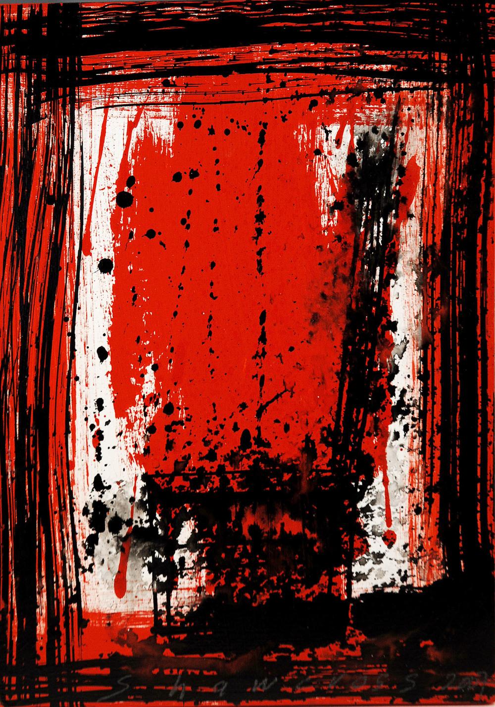 Neil Shawcross_2007_Chair # 9_acrylic on board_26 x 19cm.jpg