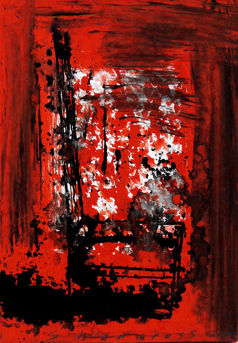Neil Shawcross_2007_Chair #11_acrylic on board_20 x 13.5cm.jpg