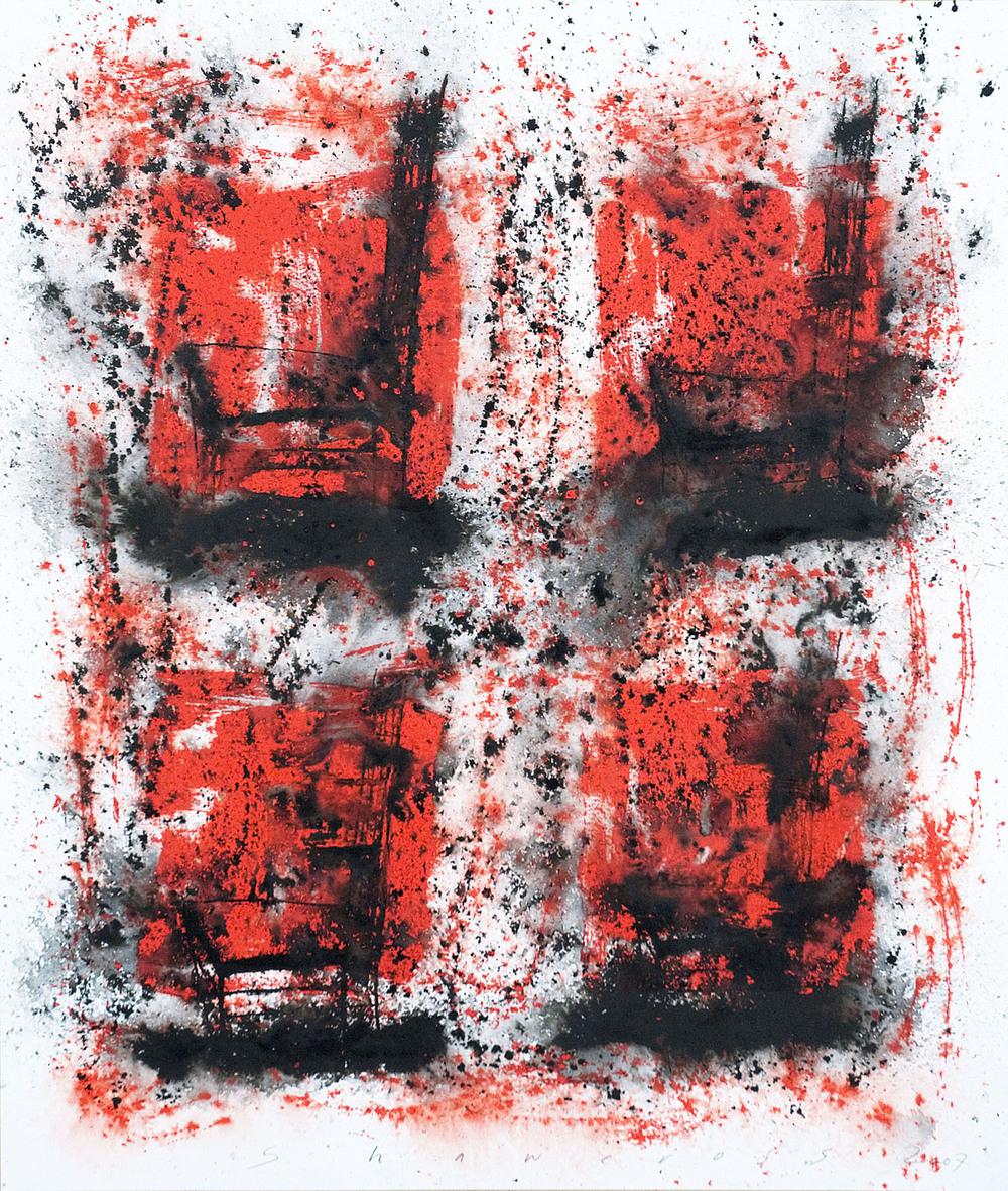 Neil Shawcross_2007_Chair #18_acrylic on paper_122 x 81cm.jpg