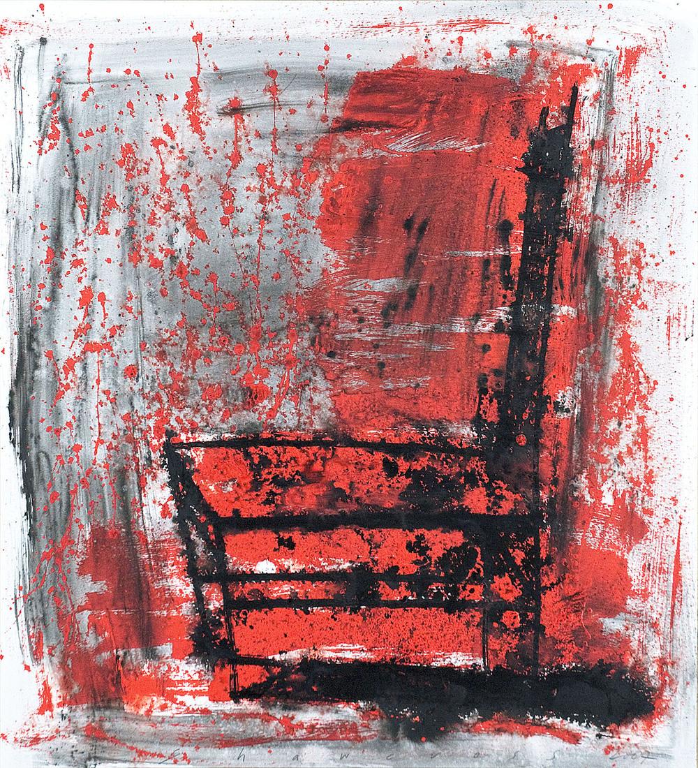 Neil Shawcross_2007_Chair #19_2007_acrylic on paper_81.5 x 72.5cm.jpg