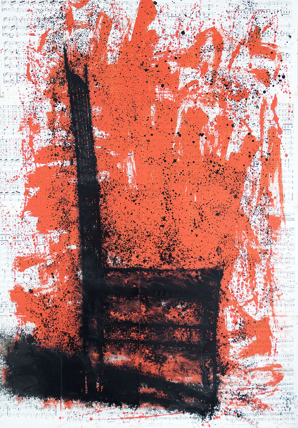 Neil Shawcross_2007_Chair #22_acrylic on paper_135 x 91.5cm.jpg