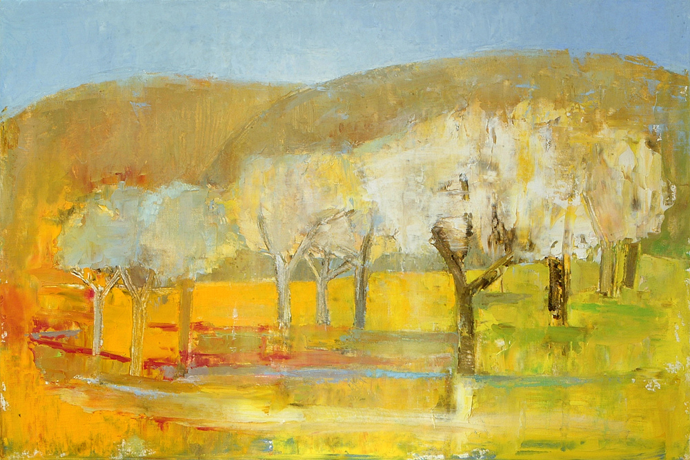 Anne Donnelly_2008_Trees in Spring_oil on canvas_ 40 x 60cm.jpg