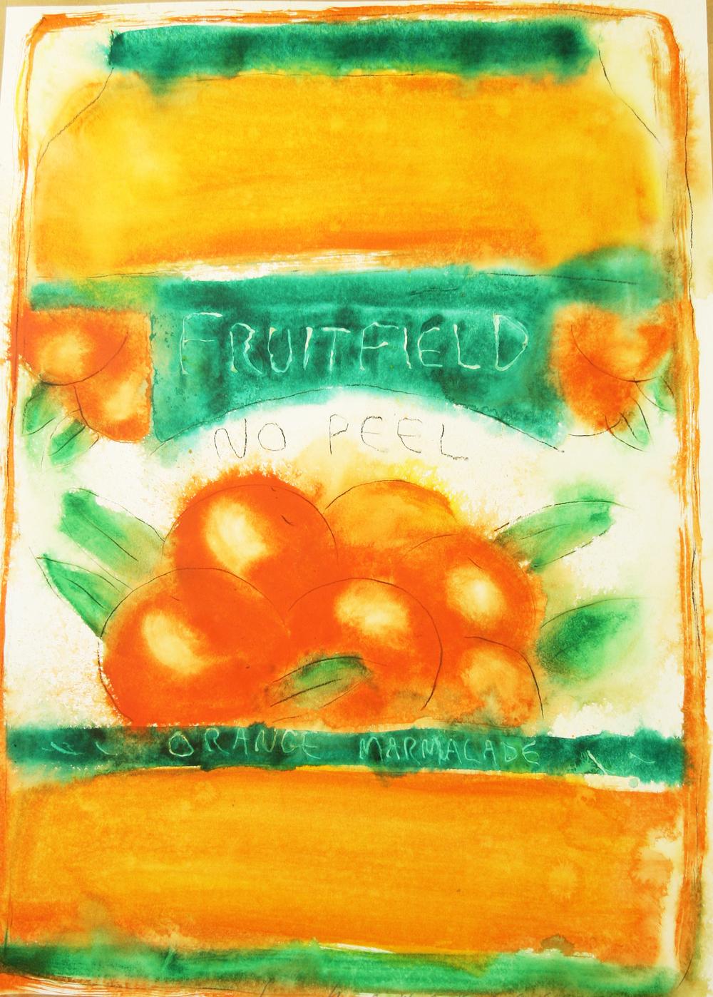 Neil Shawcross_-_Fruitfield Orange Marmalade_acrylic on paper_102 x 76cm.jpg