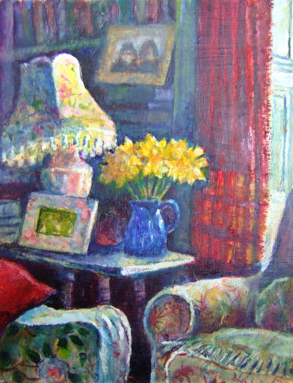 Sarah Longley_-_interior with Daffodils.jpg