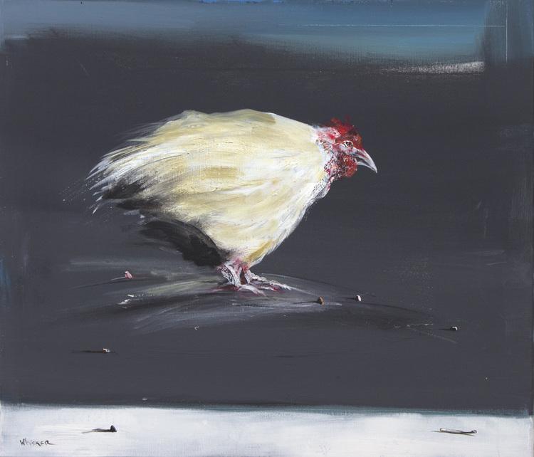 Charlie Whisker 'Pearl' oil on canvas 60x70cm.jpg