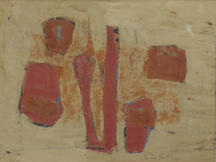 Camile Souter 'Pale Shapes' 1961 oil on japenese tissue 33x43cm.jpg