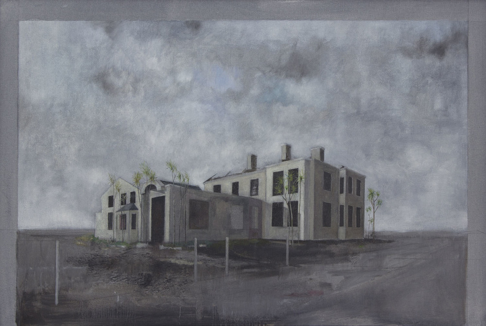Graham Gingles_2012_Burnt Hotel Drumnagreagh II_oil on canvas_58 x 88cm.jpg