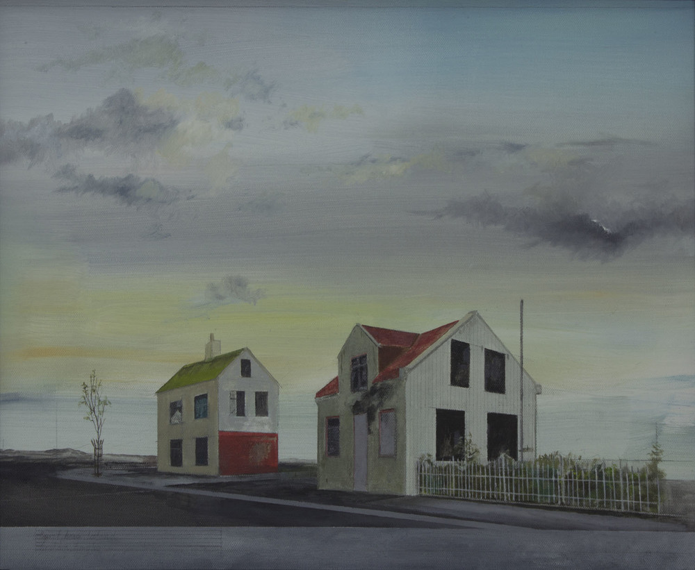 Graham Gingles_2012_Burnt House Iceland_oil on canvas_40 x 50cm.jpg