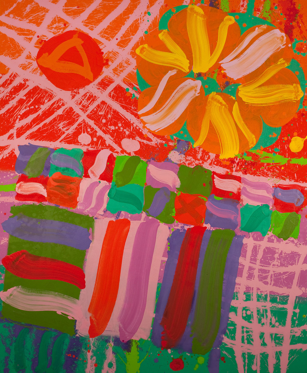 Albert Irvin 'Hope' 2010 acrylic on canvas 183x153cm.jpg