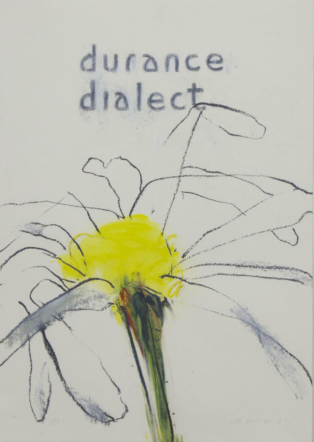 Robert Janz 'Flower' oil stick on paper 60x42cm.jpg