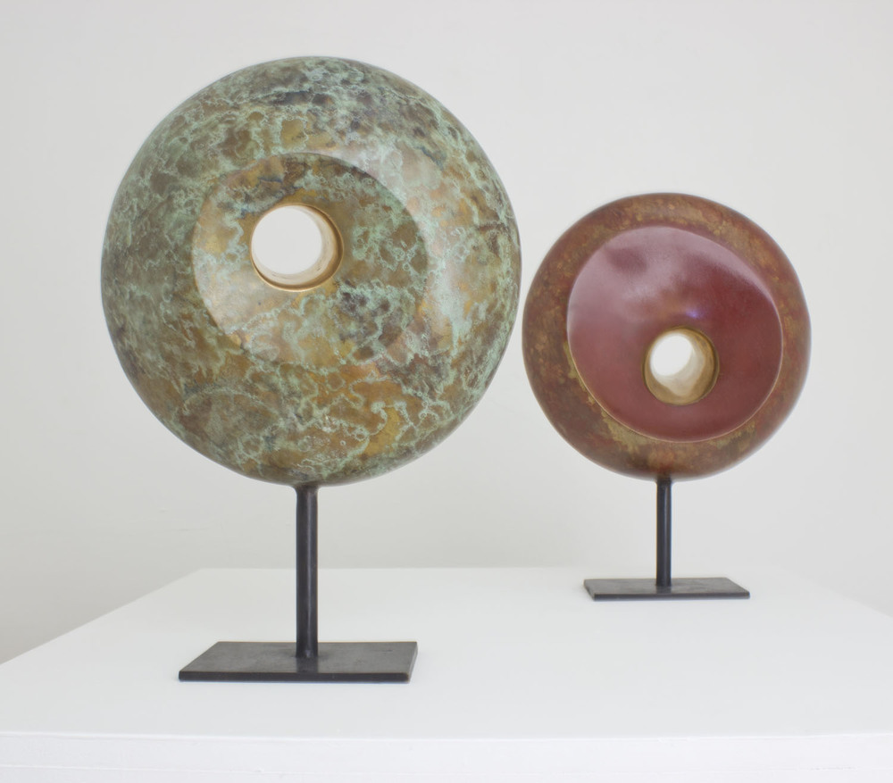 Sonja Landweer_2012_Janus I & II_bronze_€3900 each, €6900 for pair.jpg