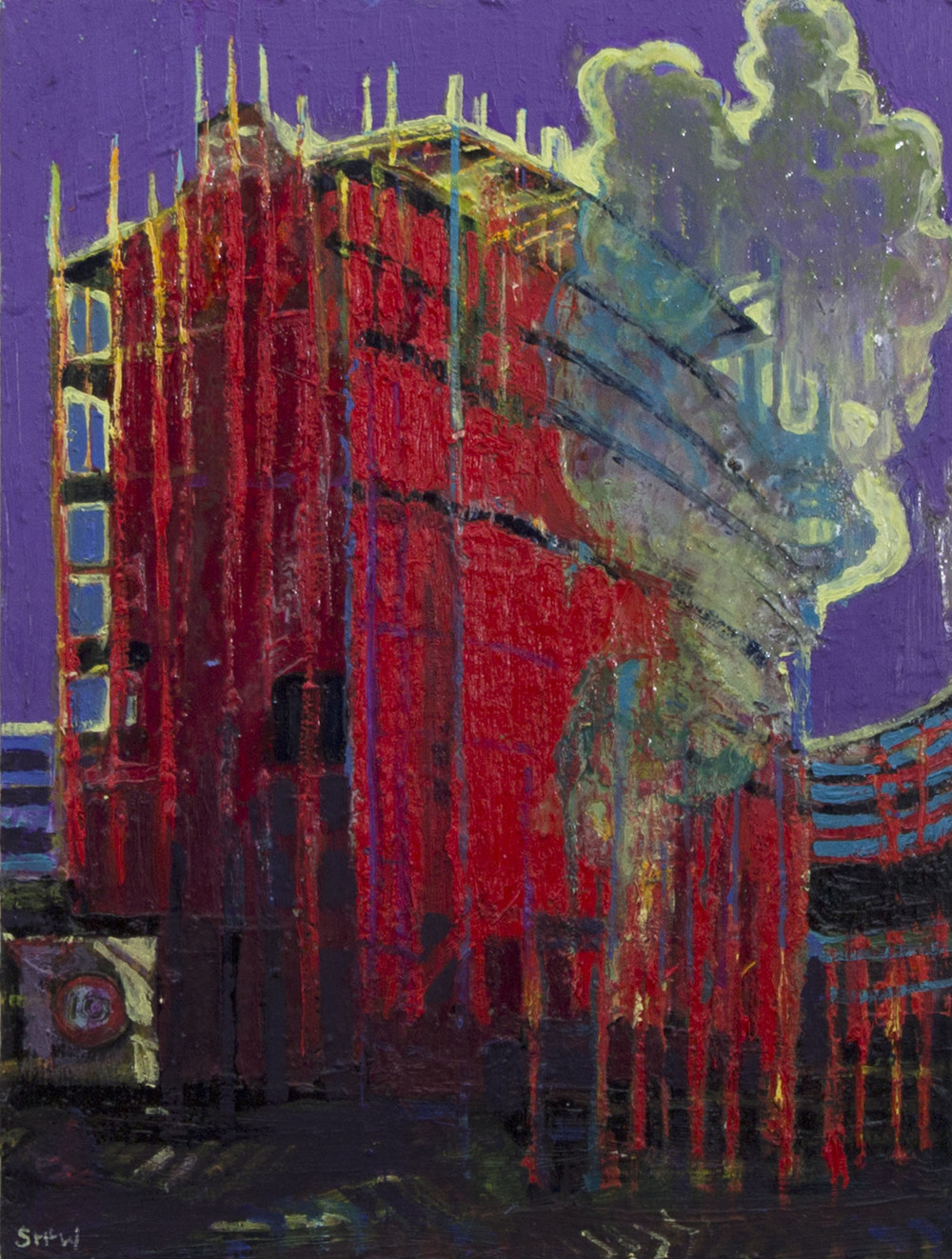 Simon McWilliams_2013_Belfast Apartments_oil on canvas_€800.jpg