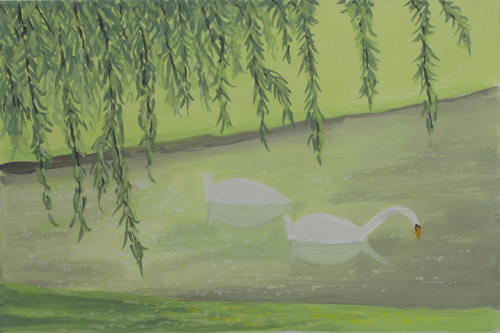 Andrew Vickery 'Tiergarten 2' gouache on card 26x39cm.jpg