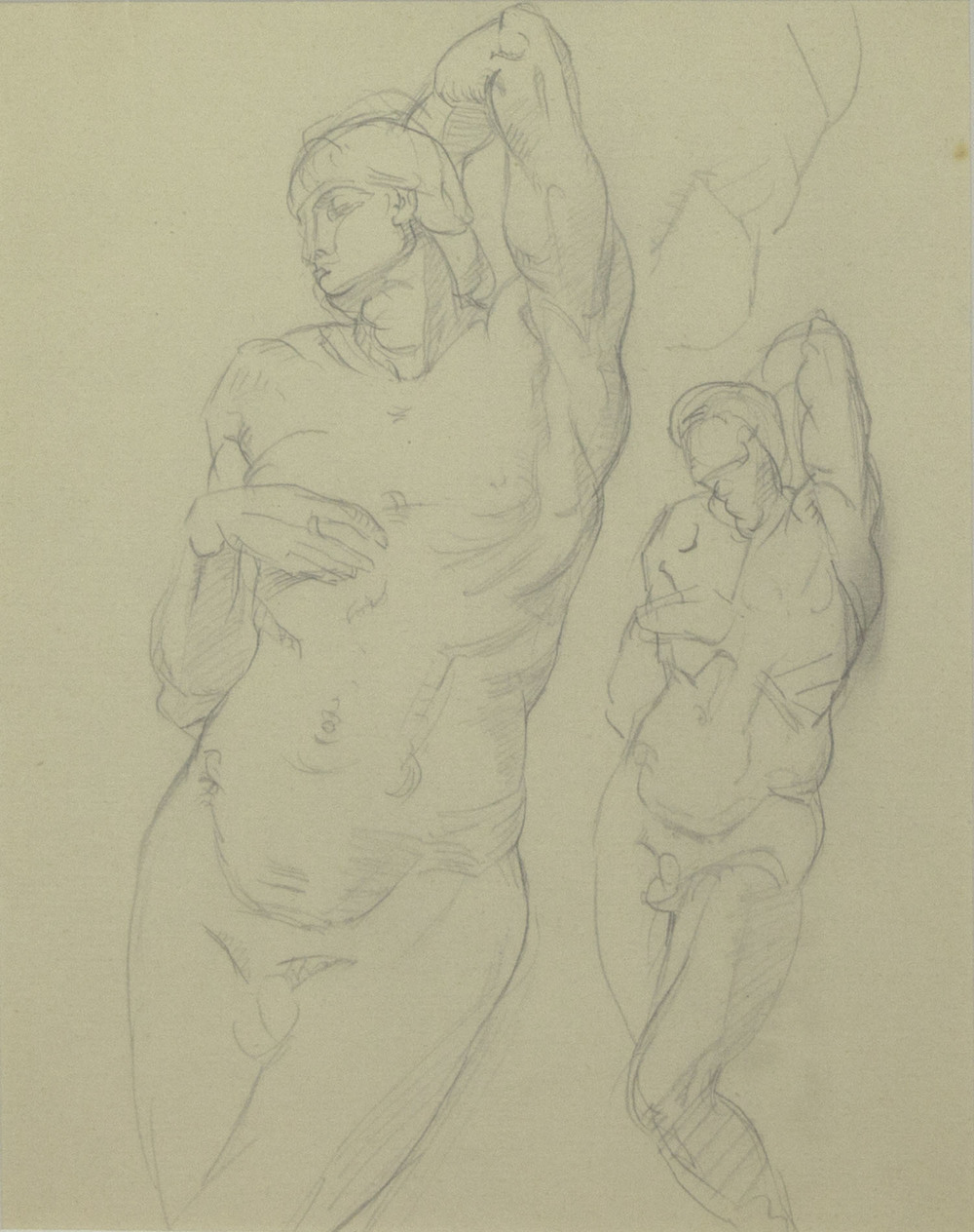 Mary Swanzy 'Life Study' pencil drawing 25x20cm.jpg