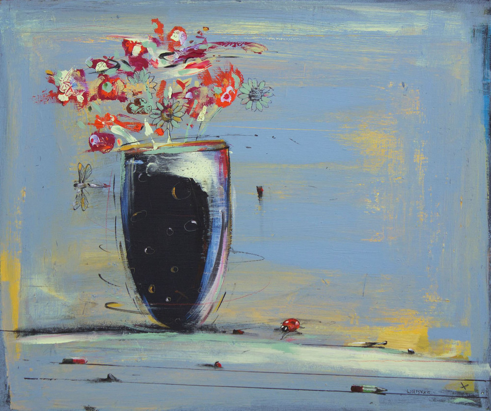 Charlie Whisker, Flowers for Mother, 2012, oil on canvas, 50 x 60cm, €3500_2.jpg