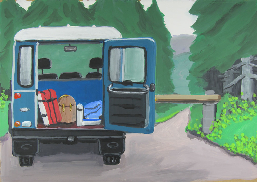 Arcades Ambo - Landrover Wicklow. Gouache on paper - 25 x 36cm - 2012.jpg