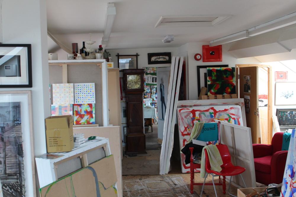 Neil Shawcross Studio RUA RHA