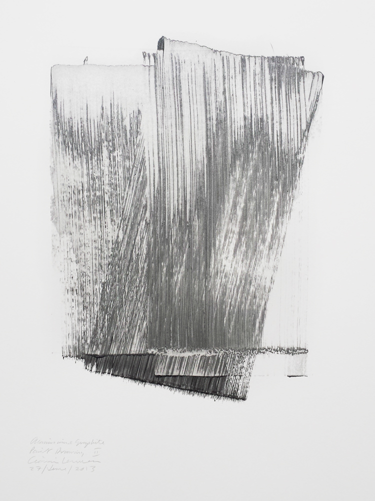 Aluminium & Graphite Paint Drawing II