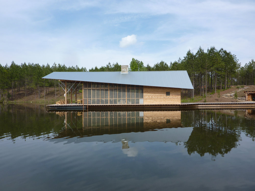 LAKE PAVILION, with GIBSON GUESS ARCHITECTS