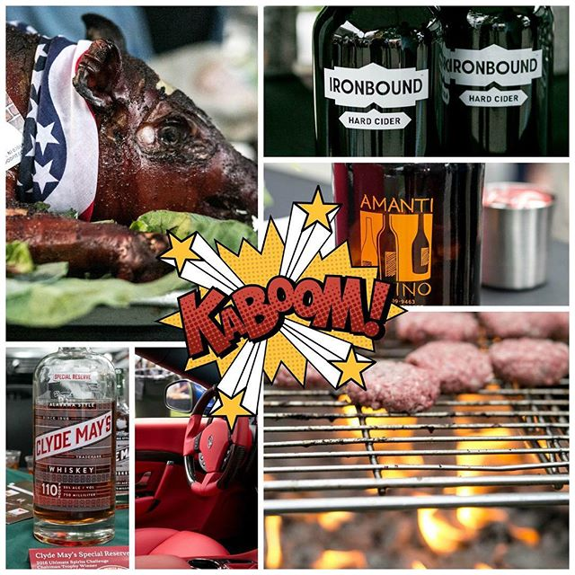 Kaboom!!! Happy 4th from #MFWF!
