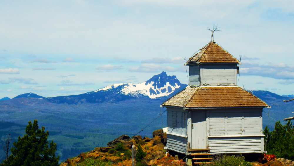 1923 D-6 Cupola at the summit of Black Butte