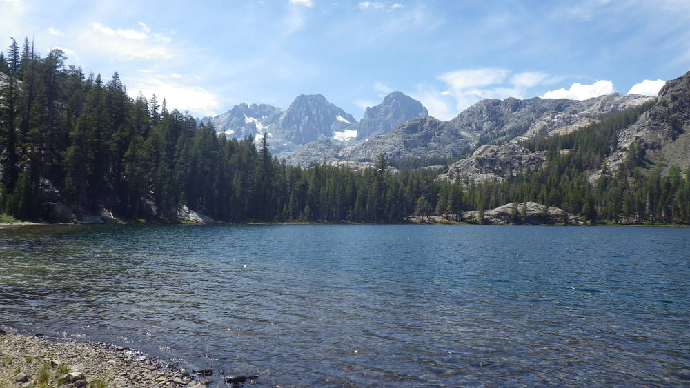 Shadow Lake with Mount Ritter and Banner Peak