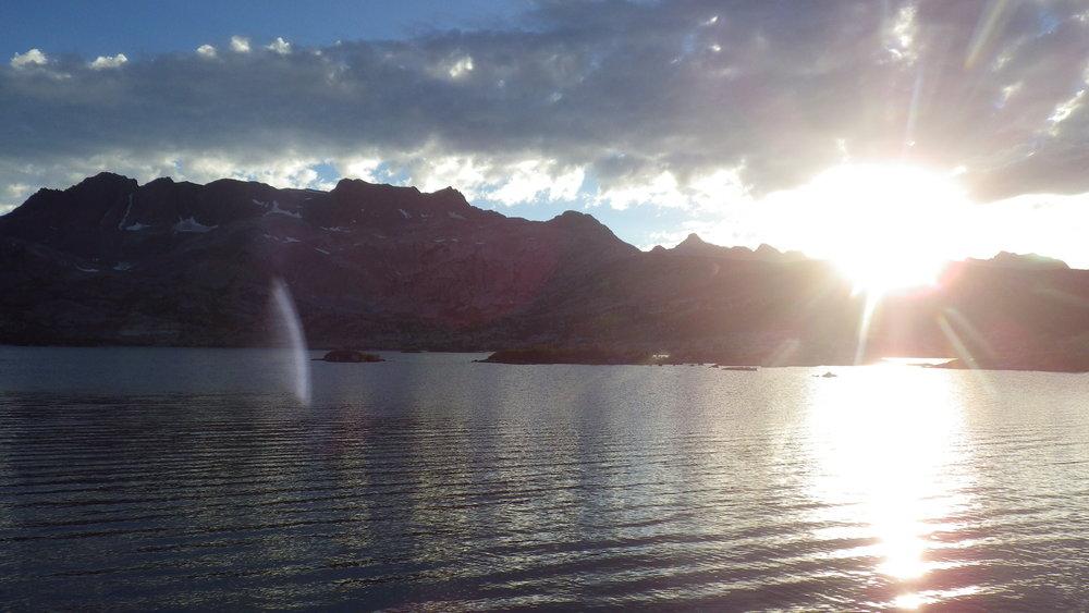 Sunset over Thousand Island Lake night two