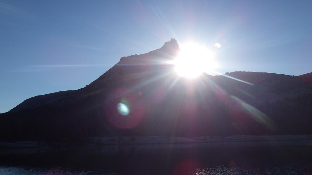Sunrise over Cathedral Peak