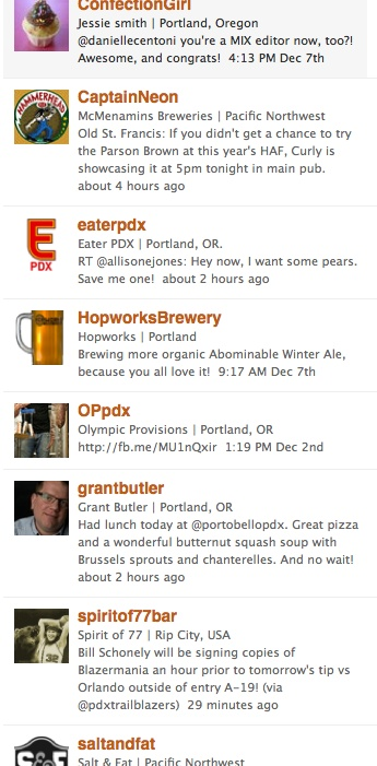portland food tweeters