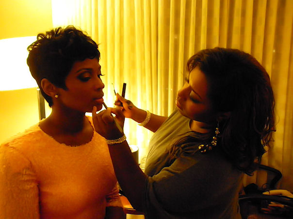"Glamming up Ariane Davis of VH1's ""Love And Hip Hop Atlanta"""