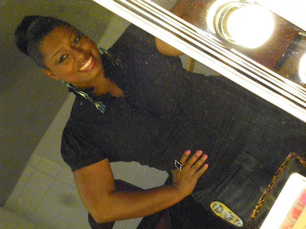 Ready to work at the American Idol Tour Cincinnati 2012.