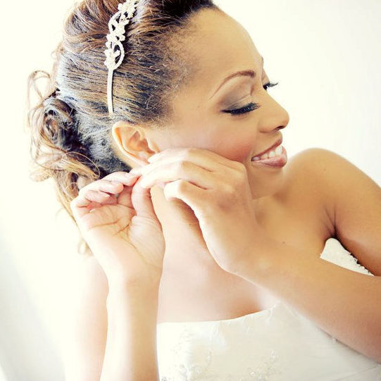 Bridal Makeup by Chenese Bean, Photo by Dolce Vita Photography