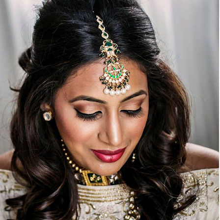 Ohio Makeup Artist - Indian Wedding - Chenese Bean