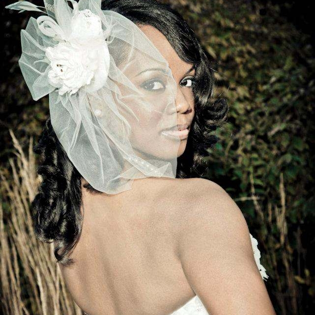 Black Bridal Makeup - Cincinnati Wedding - Chenese Bean