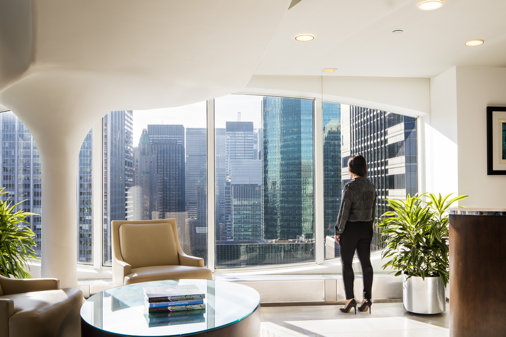 450 Park Avenue's interiors