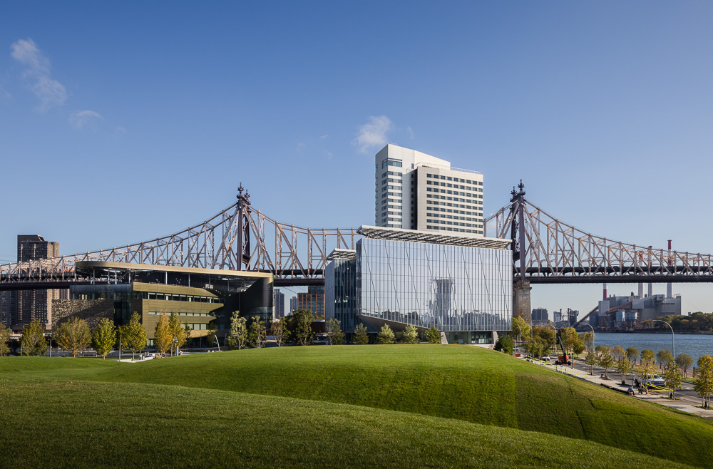 Cornell Tech campus on New York's Roosevelt Island