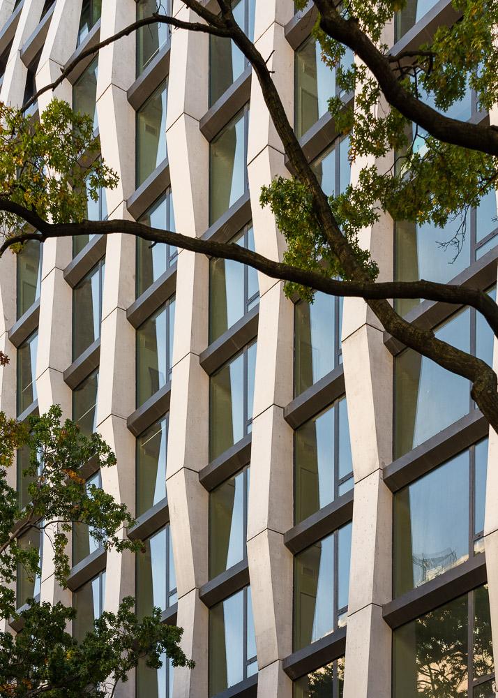 Enclave building facade details designed by Handel Architects