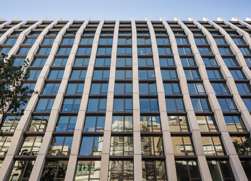Enclave building facade designed by Handel Architects