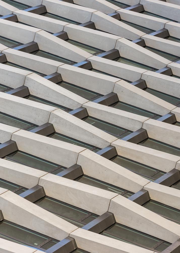 Enclave building facade details by Handel Architects