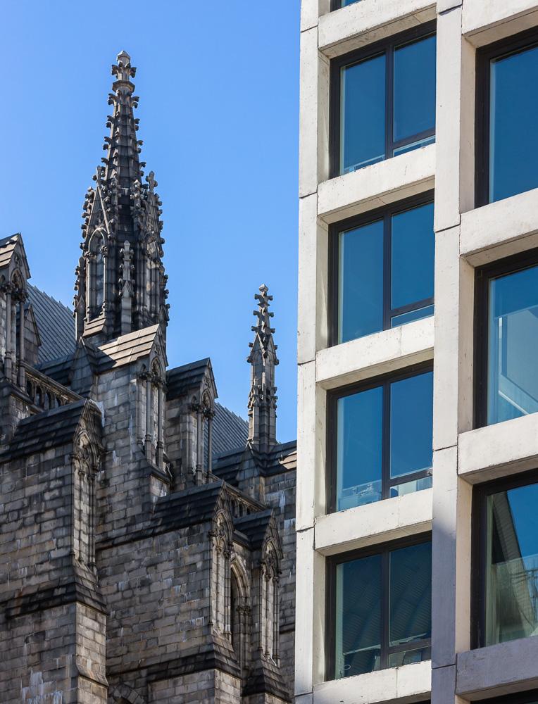 etails of Enclave building designed by Handel Architects