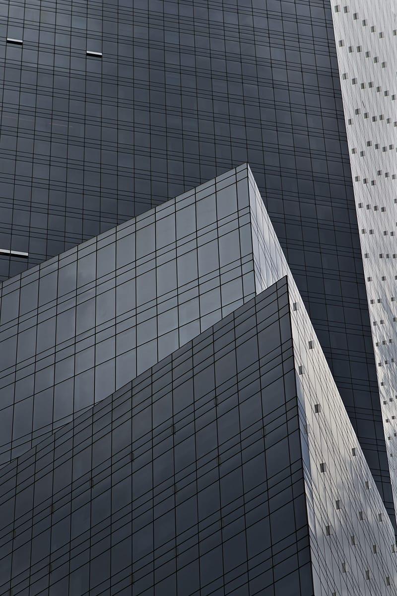 Time Warner Center building detail